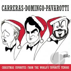 Three Tenors - Carreras, Domingo, Pavarotti - Christmas Favorites CD Cover Art