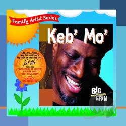 Keb' Mo' - Big Wide Grin CD Cover Art