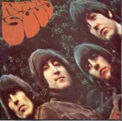 Beatles - Rubber Soul LP Cover Art
