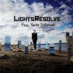 Lights Resolve - Feel You're Different CD Cover Art