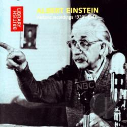 Einstein, Albert - Historic Recordings 1930-1947 CD Cover Art