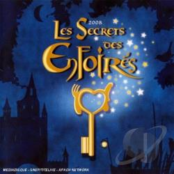 Les Enfoires - Les Secrets des Enfoires 2008 CD Cover Art
