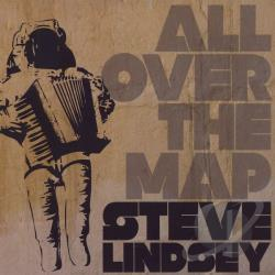 Lindsey, Steve - All Over The Map CD Cover Art
