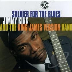 King, Little Jimmy - Soldier For The Blues CD Cover Art