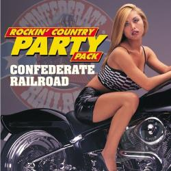 Confederate Railroad - Rockin' Country Party Pack CD Cover Art