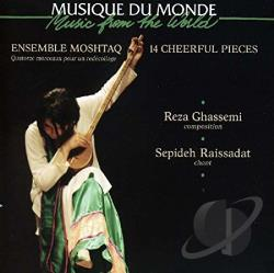 Ensemble Moshtaq - 14 Cheerful Pieces CD Cover Art