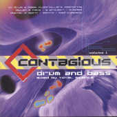 Contagious Drum & Bass V.1 CD Cover Art