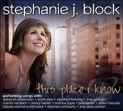 Stephanie J. Block - This Place I Know CD Cover Art