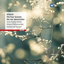 Mutter, Anne-Sophie / Vivaldi - Vivaldi: The Four Seasons CD Cover Art