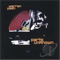 Pash, Warren - Parts Unknown CD Cover Art