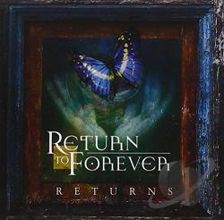 Return To Forever - Returns CD Cover Art