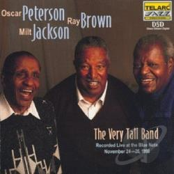 Brown, Ray / Jackson, Milt / Oscar Peterson & the Very Tall Band / Peterson, Oscar - Very Tall Band: Live at the Blue Note CD Cover Art