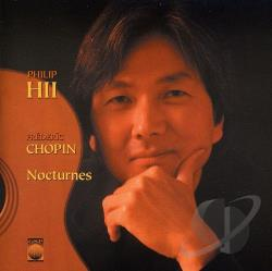 Hii, Philip - Chopin: Nocturnes CD Cover Art