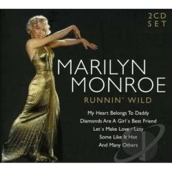 Monroe, Marilyn - Runnin' Wild CD Cover Art