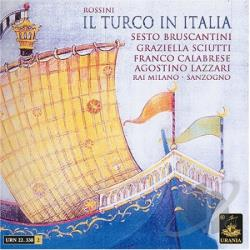 Rossini, G. - Il Turco In Italia CD Cover Art