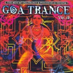 Goa Trance Vol 15 CD Cover Art
