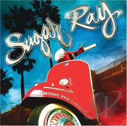 Sugar Ray - Music for Cougars CD Cover Art