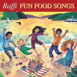 Raffi - Fun Food Songs CD Cover Art