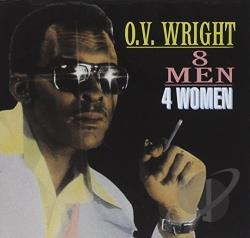 Wright, O.V. - 8 Men, 4 Women CD Cover Art