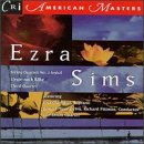 Sims - Ezra Sims: String Quartet No.3/Elegie/Third Quartet CD Cover Art