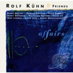 Kuhn, Rolf - Affairs CD Cover Art