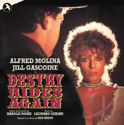 Original London Cast - Destry Rides Again CD Cover Art