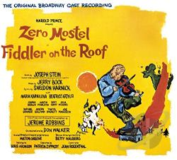 Fiddler On The Roof - Fiddler On The Roof CD Cover Art