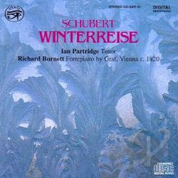 Burnett / Partridge, Ian: ten - Schubert: Winterreise CD Cover Art