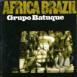 Grupo Batu / Grupo Batuque - Africa Brazil CD Cover Art
