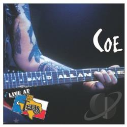 Coe, David Allan - Live at Billy Bob's Texas CD Cover Art