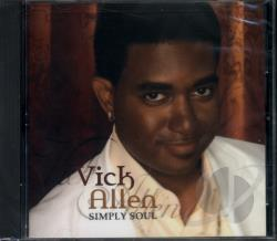 Allen, Vick - Simply Soul CD Cover Art