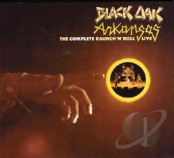 Black Oak Arkansas - Complete Raunch 'N' Roll Live CD Cover Art