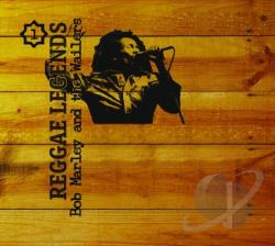 Marley, Bob & Wailers - Reggae Legends CD Cover Art