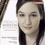 Fisher, Phillip / Geoghegan, Karen - French Bassoon Works CD Cover Art
