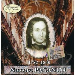 Romantic Classic - Paganini CD Cover Art