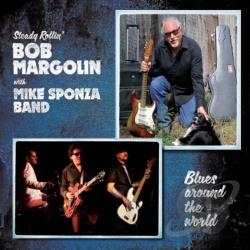 Margolin, Bob / Sponza, Mike - Blues Around the World CD Cover Art