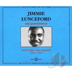 Lunceford, Jimmie - Quintessence: New York - Los Angeles 1934-1941 CD Cover Art