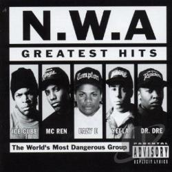 N.W.A. - Greatest Hits CD Cover Art
