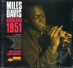 Davis, Miles - Birdland 1951 CD Cover Art