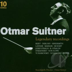 Mozart, Wolfgang Amadeus - Legendary Recordings of Otmar Suitner CD Cover Art