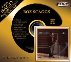Scaggs, Boz - Boz Scaggs CD Cover Art