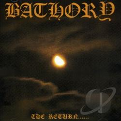 Bathory - Return of the Darkness and Evil CD Cover Art