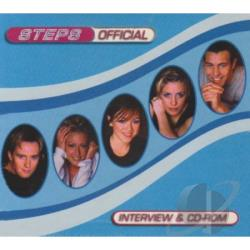 Steps - Official Interview CD Cover Art