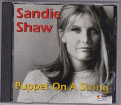 Shaw, Sandie - Music Of The Spheres-Best Of CD Cover Art