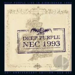 Deep Purple - Live in Birmingham 1993 CD Cover Art