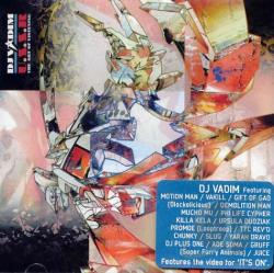Dj Vadim - U.S.S.R.: The Art of Listening CD Cover Art