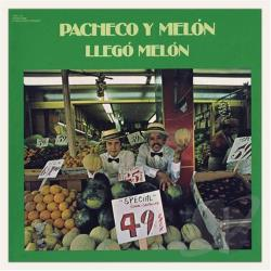 Johnny Pacheco Y Melon - Llego Melon CD Cover Art
