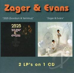 Zager & Evans - In the Year 2525 (Exordium & Terminus)/Zager & Evans CD Cover Art