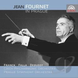 Czech Philharmonic Orchestra / Fournet / Franck - Jean Fournet in Prague CD Cover Art
