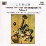 Bach / Van Asperen / Van Dael - Bach: Sonatas for Violin and Harpsichord, Vol. 1 CD Cover Art